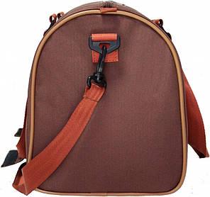 Сумка Bagland Milanetti 33 л. коричневий/кирпич (0032466), фото 2