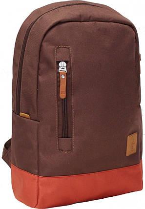 Рюкзак Bagland Donatti 16 л. коричневий/кирпич (0011666), фото 2