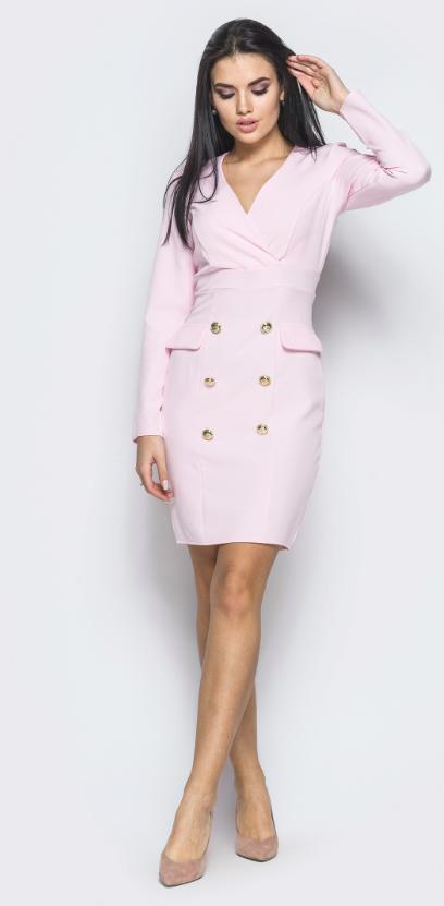 Деловое офисное строгое платье норма недорого интернет-магазин сайт женской одежды  модна каста р. 42-46 87775b210a9