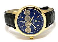 Мужские  часы  FERRARI -  с черным циферблатом, четыре дополнительных циферблата