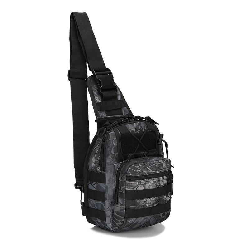 Тактический городская сумка Чёрный мультикам