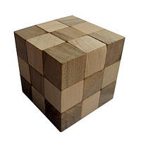 Деревянная головоломка Круть Верть Куб 6х6х6 см (nevg-0038)