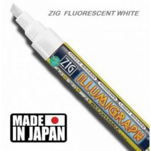 Маркер ZIG ILLUMIGRAPH крейдяної білий товщина лінії 2-6 мм (1015)
