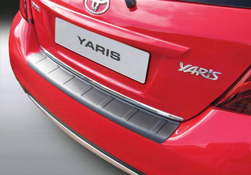RBP782 Toyota Yaris 2014+ ribbed rear bumper protecror