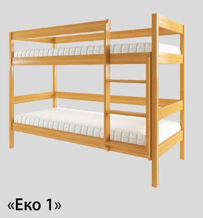 Кровать двухъярусная Эко-1, фото 2