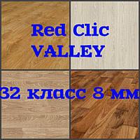 Ламинат Red clic, коллекция Valley, толщина 8 мм, без фаски, класс 32 класс