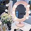 Подарок девушке на Новый год-Зеркало для макияжа цвет на заказ, фото 6