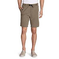 Шорты Eddie Bauer Mens Kebili 9quot Belted Shorts DRIFTWOOD M Светлокоричневые, КОД: 275697