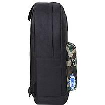 Рюкзак Bagland Молодежный W/R 17 л. черный/камуфляж (00533662), фото 2