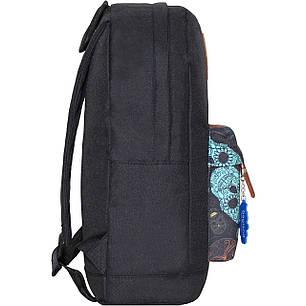 Рюкзак Bagland Молодежный W/R 17 л. чорний 106 (00533662), фото 2