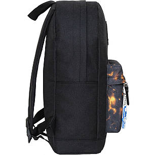 Рюкзак Bagland Молодежный W/R 17 л. чорний 83 (00533662), фото 2