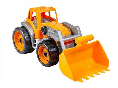 Трактор с ковшом Технок (оранжевый)