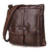 Мужская сумка через плечо JasperMaine 7045Q Коричневый, КОД: 154653