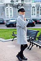 Пальто oversize свободного кроя. На подкладе., фото 1