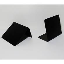 Табличка L (10шт/уп) размер поля для написи 50х50мм пластиковая для написания меловым маркером (1019)
