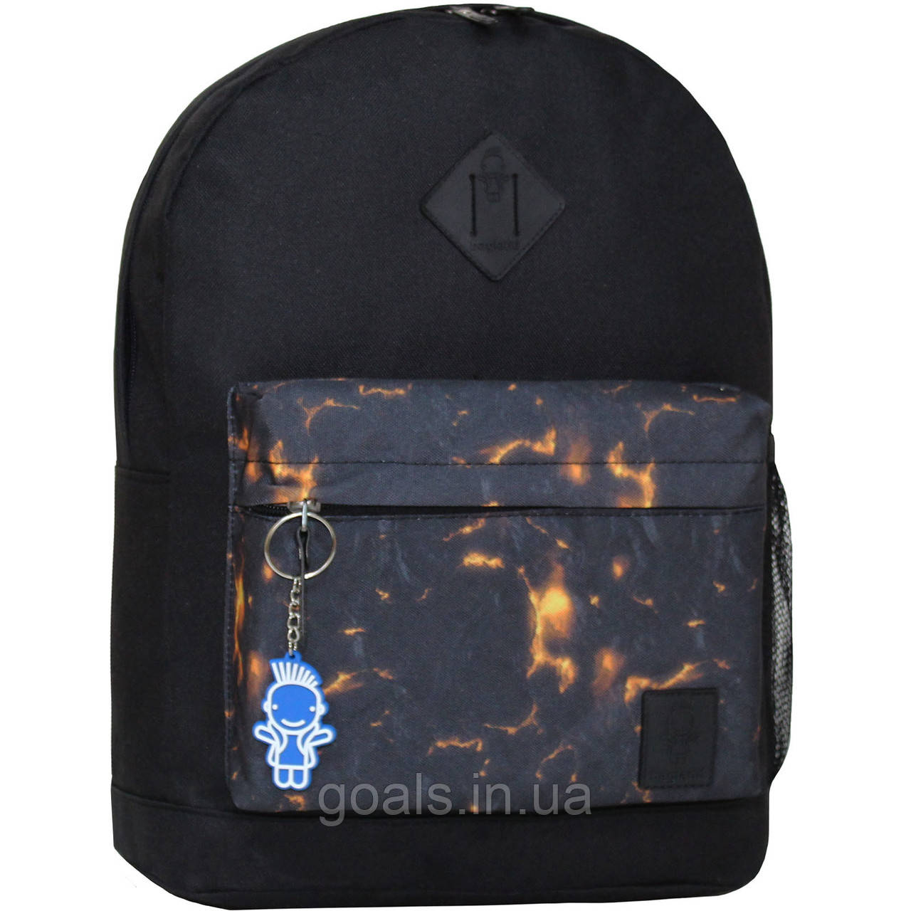 Рюкзак Bagland Молодежный W/R 17 л. чорний 83 (00533662)