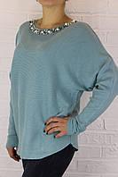 Кофта женская ZUR 32429 голубая