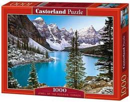 """Пазлы """"Голубое озеро, Jewel of the rockies, Canada"""", 1000 элементов"""