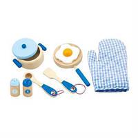 Игровой набор Viga Toys Маленький повар Голубой (20181002V-034)