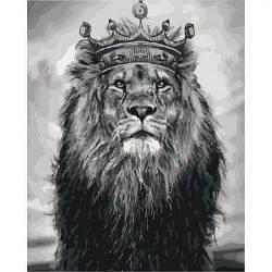"Картина по номерам ""Король Лев"""