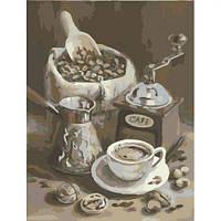 """Картина по номерам """"Утренний Кофе"""""""