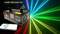 Диско лазер RGB с пультом ДУ. Лазерный проектор DM-RGB 400 Dzyga