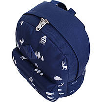 Рюкзак Bagland Молодежный W/R 17 л. 225 синій/олені (00533662), фото 2