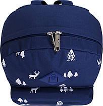 Рюкзак Bagland Молодежный W/R 17 л. 225 синій/олені (00533662), фото 3