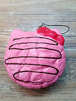 """Антистресс игрушка - брелок Сквиши """"Пончик-Котик"""" (Squishy), розовый"""