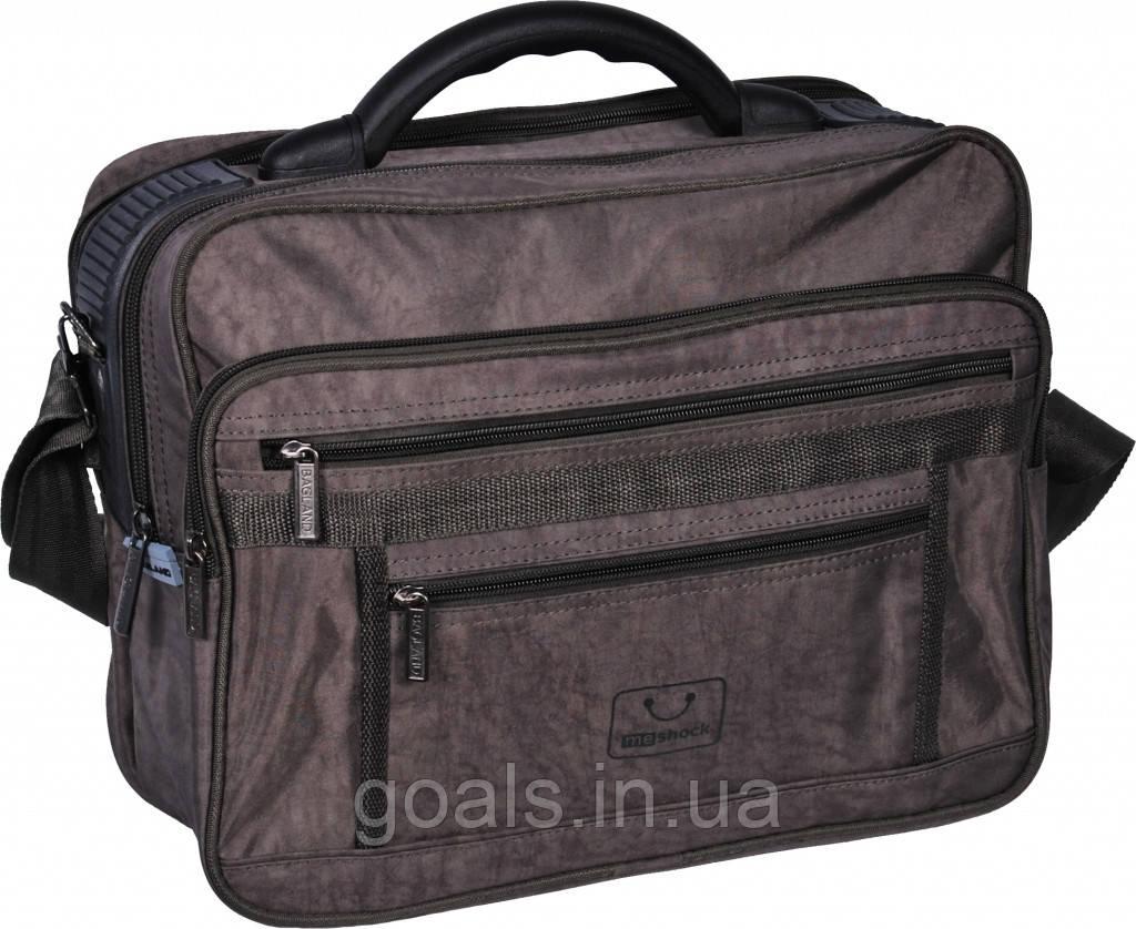 Мужская сумка Bagland Mr.Cool 15 л. Хаки (0025170)