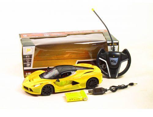 """Машина на радиоуправлении """"Ferrari"""" (жёлтый)"""