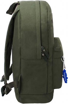 Рюкзак Bagland Молодежный W/R 17 л. Хаки (00533662), фото 2