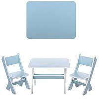 Столик и два стульчика М 2101-10, мята