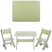 Столик и два стульчика М 2101-09, салатовый