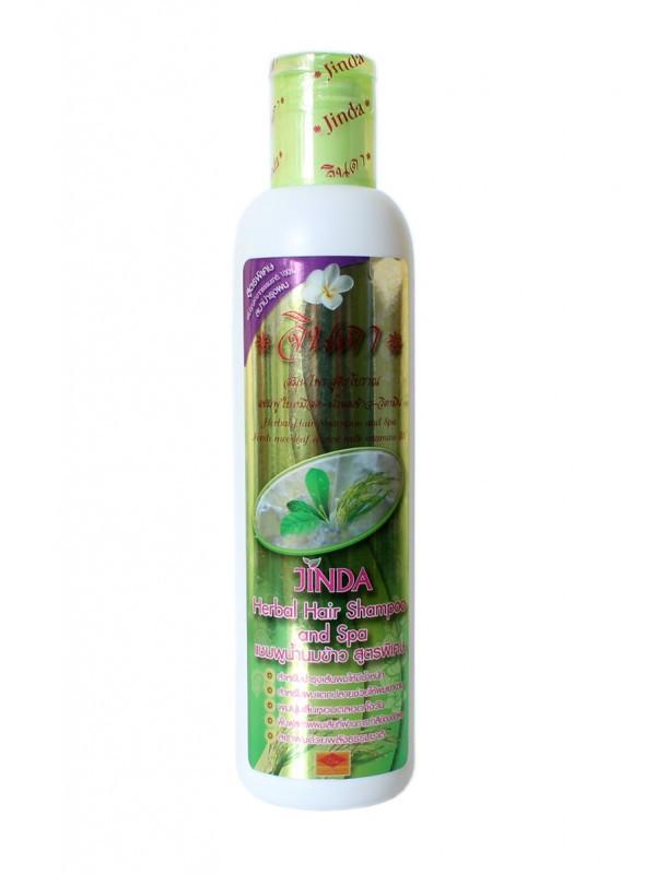Тайський Шампунь Догляд & Спа c рисовим молоком від JINDA Баймисот, 250 г