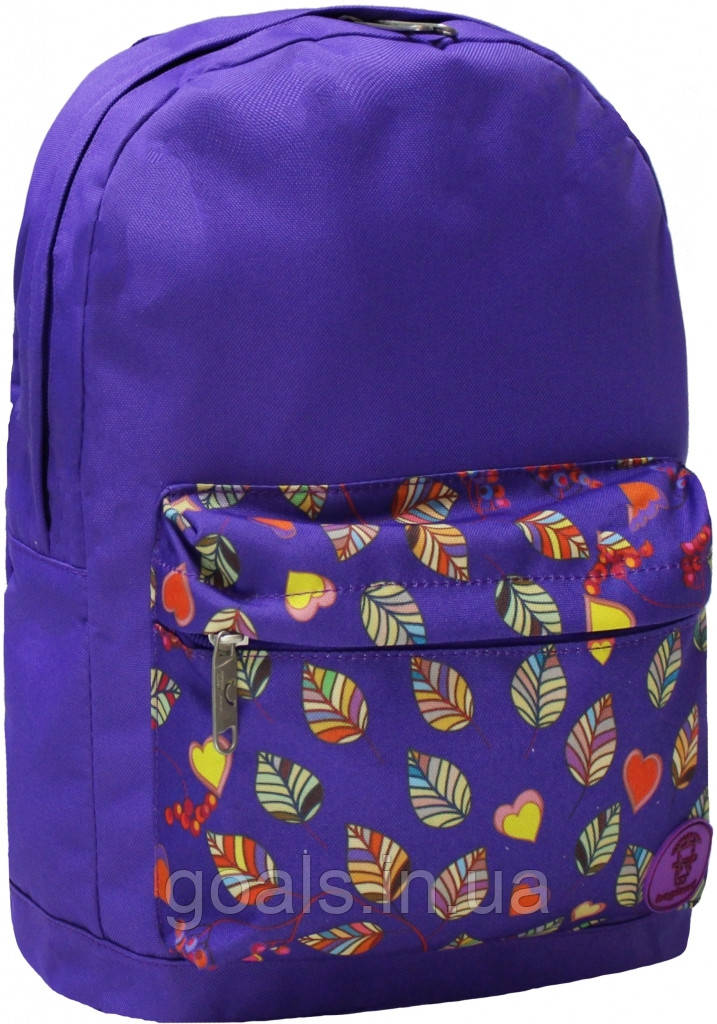 Рюкзак Bagland Молодежный W/R 17 л. 170 фіолетовий 79 (00533662)