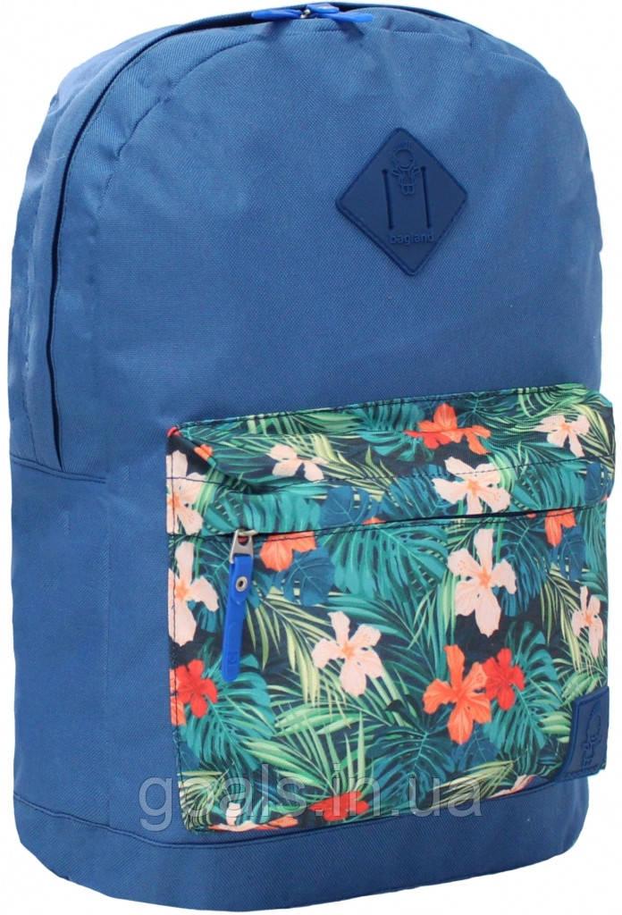 Рюкзак Bagland Молодежный W/R 17 л. 225 синій 128 (00533662)