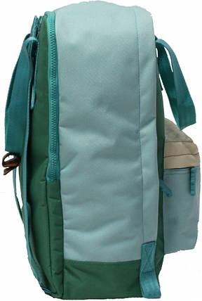 Рюкзак Bagland Liberty 19 л. 260 зелений/тіфані (0050266), фото 2