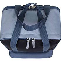 Рюкзак Bagland Liberty 19 л. Чёрный/серый (0050266), фото 2