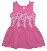 Платье ValeriTex 200355126006 110 см Розовый, КОД: 264682