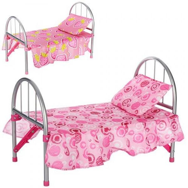 Кроватка с матрасиком для куклы MELOGO 9342 / WS 2772