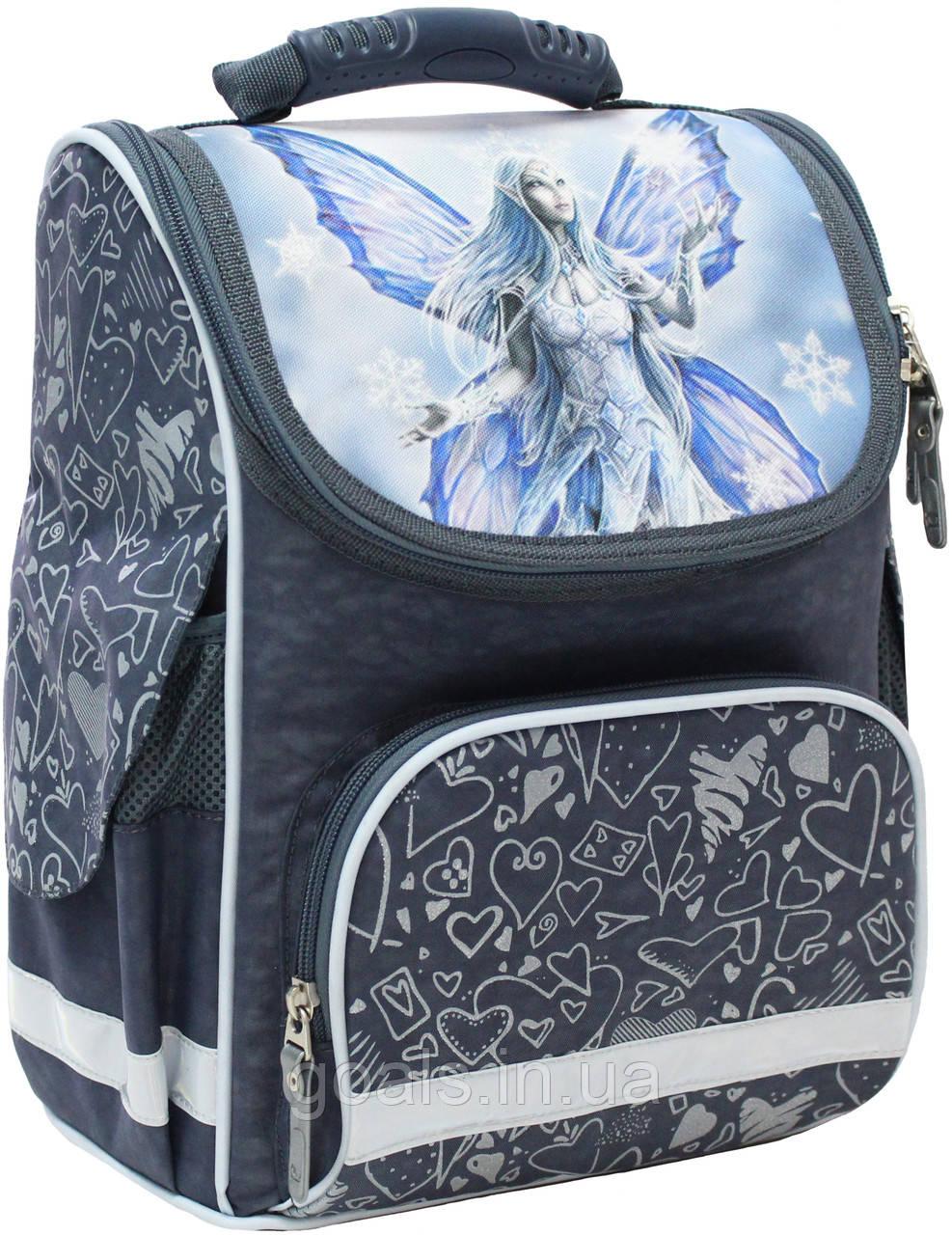 Рюкзак школьный каркасный Bagland Успех 12 л. 321 сірий 94 д (00551702)