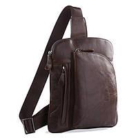 Сумка-рюкзак TIDING BAG 7194C Коричневая