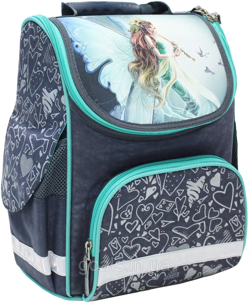 Рюкзак школьный каркасный Bagland Успех 12 л. 321 сірий 90 д (00551702)