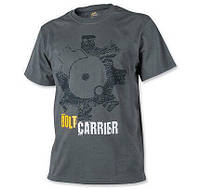 Мужская хлопковая футболка T-Shirt Helikon Bolt Carrier - Shadow Grey (TS-BCR-CO-35) 3XL (TS-BCR-CO-