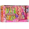Кукла с нарядами и красками для волос 68033, фото 2