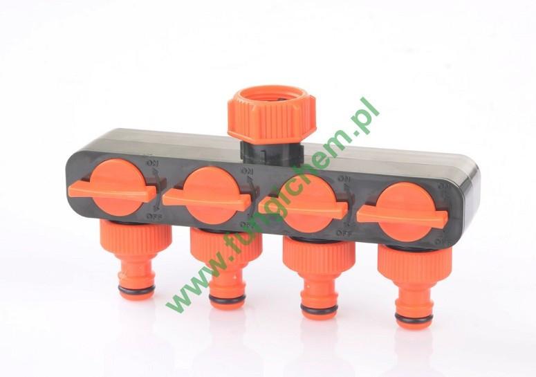 Переходник для подсоединения четырёх шлангов к крану Ramp RT1134 (113-4)