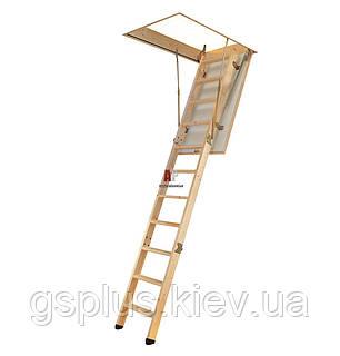 Деревянная складная лестница с люком VELTA Премиум, фото 2