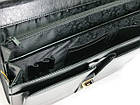 Портфель деловой из искусственной кожи 4U CAVALDI черный B005, фото 9
