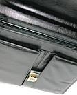 Портфель деловой из искусственной кожи 4U CAVALDI черный B005, фото 10